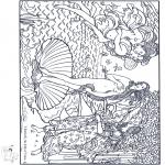Allerhand Ausmalbilder - Maler Botticelli