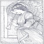 Allerhand Ausmalbilder - Maler Burne-Jones