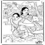 Allerhand Ausmalbilder - Maler Gauguin 2