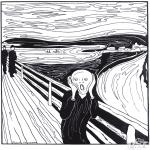 Allerhand Ausmalbilder - Maler Munch