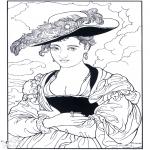 Allerhand Ausmalbilder - Maler Rubens