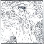 Allerhand Ausmalbilder - Maler S. Sargent
