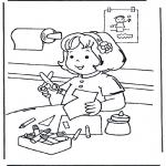 Ausmalbilder für Kinder - Malvorlagen basteln