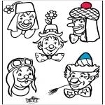 Allerhand Ausmalbilder - Malvorlagen clown 2