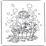 Ausmalbilder Comicfigure - Malvorlagen Diddl