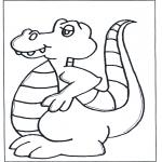 Ausmalbilder Tiere - Malvorlagen dinosaurier