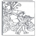 Allerhand Ausmalbilder - Malvorlagen elfen