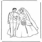 Ausmalbilder Themen - Malvorlagen Heiraten