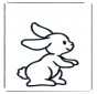Malvorlagen kaninchen 1