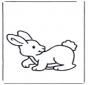 Malvorlagen kaninchen 2