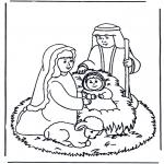 Bibel Ausmalbilder - Malvorlagen krippe