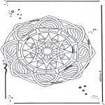 Malvorlagen Mandalas - Malvorlagen madala stern