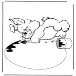 Ausmalbilder Themen - Malvorlagen Ostern