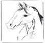 Malvorlagen pferde