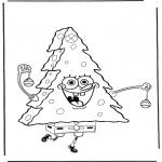 Ausmalbilder für Kinder - Malvorlagen Spongebob kostenlos