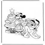 Ausmalbilder Comicfigure - Malvorlagen weihnachtsbaum