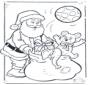 Malvorlagen weihnachtsmann
