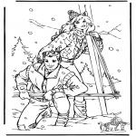 Malvorlagen Winter - Malvorlagen winter