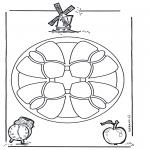 Malvorlagen Mandalas - Mandala 11
