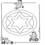 Malvorlagen Mandalas - Mandala 13