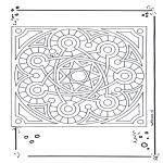 Malvorlagen Mandalas - Mandala 15