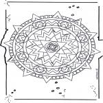 Malvorlagen Mandalas - Mandala 19