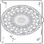 Malvorlagen Mandalas - Mandala 20