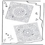 Malvorlagen Mandalas - Mandala 24