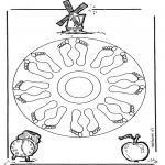 Malvorlagen Mandalas - Mandala malvorlagen