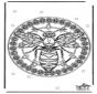 Mandala Wespe
