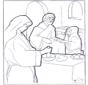 Maria Martha und Jesus
