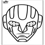 Malvorlagen Basteln - Maske 15