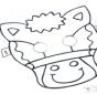 Maske Pferd