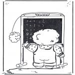 Allerhand Ausmalbilder - Mathematik