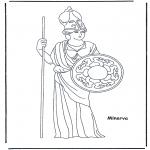 Allerhand Ausmalbilder - Minerva