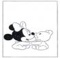 Minnie als Baby