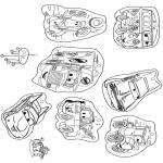 Malvorlagen Basteln - Mobil Cars 1