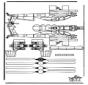 Modellbogen  Hubschrauber