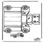 Modellbogen  Lastkraftwagen