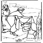 Bibel Ausmalbilder - Moses 2