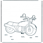 Allerhand Ausmalbilder - Motorrad 1