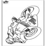 Allerhand Ausmalbilder - Motorrad 2
