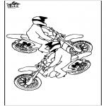Allerhand Ausmalbilder - Motorrad 3