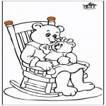 Ausmalbilder Themen - Muttertag 11