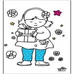 Ausmalbilder Themen - Muttertag 6