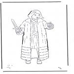 Ausmalbilder Comicfigure - Narnia 2