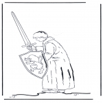 Ausmalbilder Comicfigure - Narnia 4