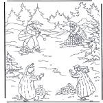 Ausmalbilder Comicfigure - Narnia 6
