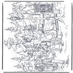 Ausmalbilder Comicfigure - Narnia 7