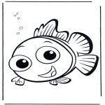 Ausmalbilder für Kinder - Nemo 5